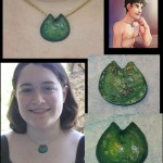 Dragon scale necklace by Char!