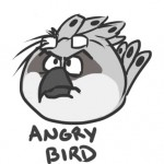 Angry Bird, by Tathi